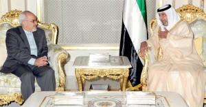 President Receives Iranian FM