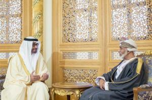 Sheikh Mohammed bin Zayed Meets Sultan Qaboos