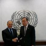 Gargash meets UN Secretary General