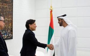Sheikh Gen Mohammed meets US Commerce Minister