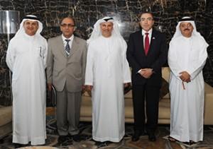 Dr. Anwar Gargash meets Tunisian FM