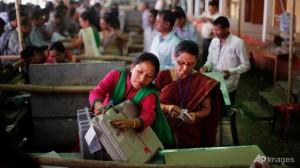 Indians began voting in world's biggest election