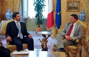Italian Prime Minister receives Sheikh Abdullah
