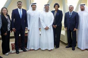 UAE, US to strengthen bilateral ties