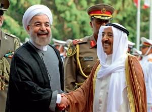 Kuwait Amir in Iran to build ties