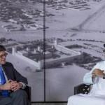 Sheikh Mohamed bin Zayed Meets US Secretary of Treasury