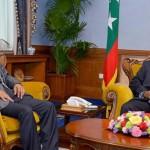 DP World Chairman meets Maldives President