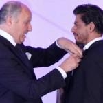Shahrukh Khan receives top French honour