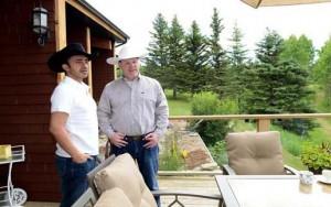 Sheikh Abdullah meets Canadian Counterpart