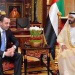 PM receives Georgian Counterpart