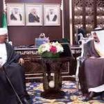 Saudi Crown Prince meets Sudanese President