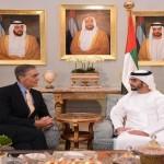 Sheikh Hamdan bin Zayed meets UK's Duke of Westminster
