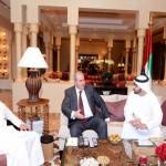 Sheikh Hamdan reiterates support to Unity of Iraq