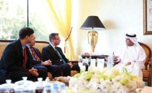 RAK Ruler receives Ambassadors of Finland & Australia