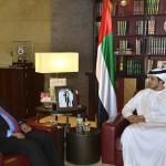 Sheikh Mansour bin Zayed meets Algerian minister