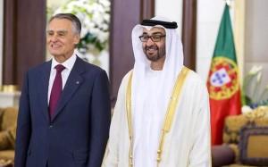 Sheikh Mohamed bin Zayed receives President of Portugal