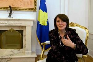 Sheikha Fatima receives President of Kosovo