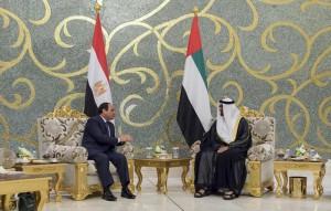Egyptian President arrives in UAE