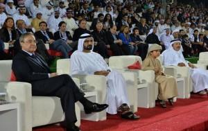 PM attends Dubai football challenge match