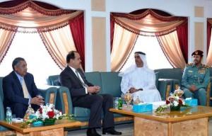 Sheikh Saif, Jordanian counterpart discuss ties