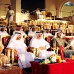 Arabian camel racing festival held