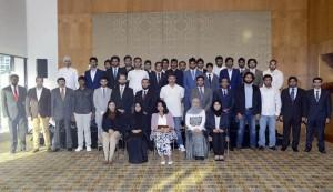 FM meets UAE students at Australian universities