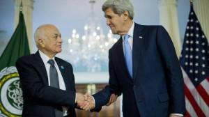 Kerry lauds Arab League's Secretary