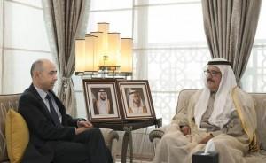 Sheikh Hamdan receives French Consul-General
