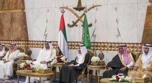 Sheikh Mohamed bin Zayed meets Saudi King
