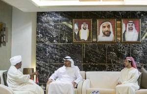 Sheikh Mohamed bin Zayed meets Sudanese President