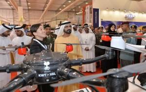 Sheikh Mohammed bin Rashid tours IDEX
