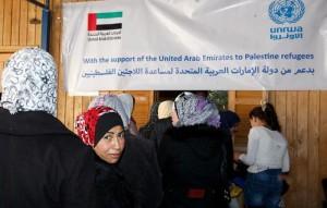 UAE aid reaches Palestine refugees in Syria