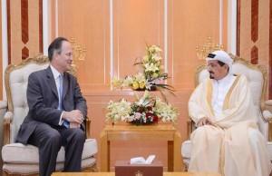 Ajman Ruler receives British Ambassador