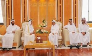 Ajman Ruler receives number of businessmen