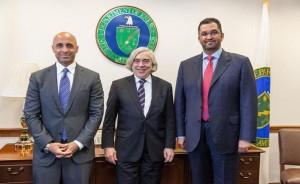 Al Jaber discuss enhancing UAE-US relations