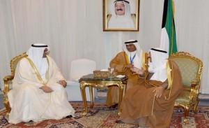 Amir of Kuwait meets Fujairah Ruler