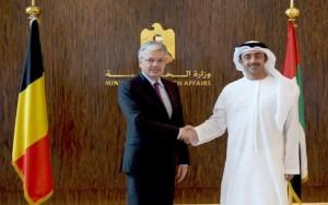 FM receives Belgian Deputy Premier
