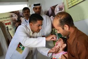 Global tribute to UAE's efforts for polio eradication