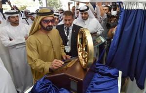 PM tours Dubai Int'l Boats & Yachts exhibition