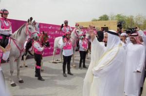 Sharjah ruler launches Pink Caravan Ride