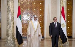 Sheikh Mohamed bin Zayed, El-Sisi hold talks