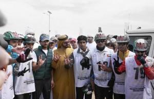 Sheikh Mohammed bin Rashid attends endurance race