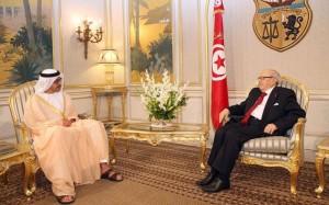 Tunisian President receives Sheikh Abdullah