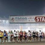 Winners of Zayed Charity Marathon honoured