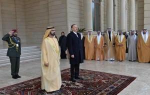 President of Azerbaijan receives Sheikh Mohammed