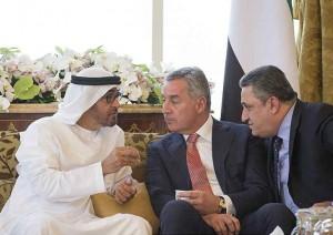 Sheikh Mohamed bin Zayed receives Montenegro PM
