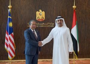 Sheikh Abdullah receives Malaysian FM