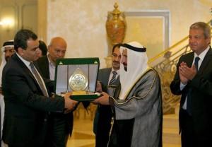 Sultan Al Qasimi meets Egyptian Minister of Culture