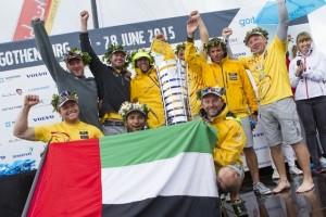 Abu Dhabi team wins Volvo Ocean Race's in-port series