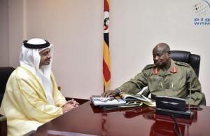 President of Uganda receives Sheikh Abdullah